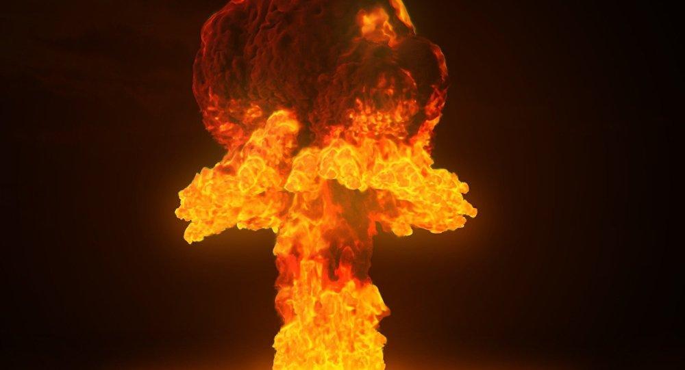 Una explosión nuclear (imagen referencial)