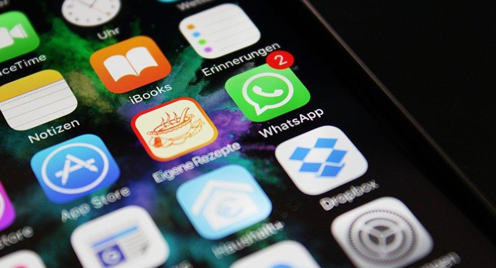 La aplicación WhatsApp en la pantalla de un teléfono inteligente (imagen referencial)