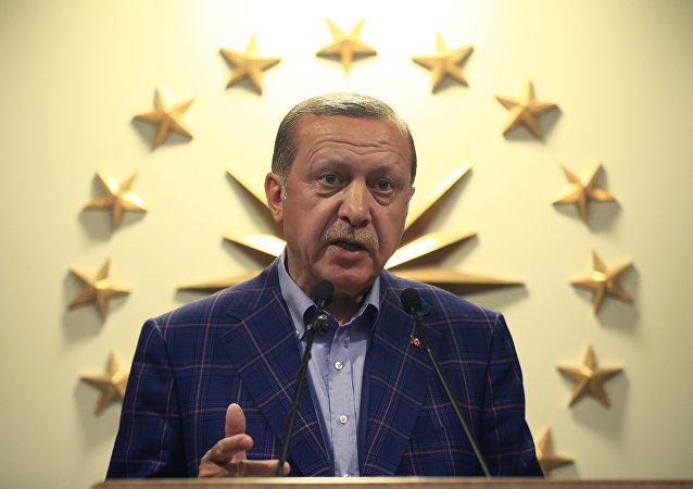 Presidente turco, Tayyip Erdogan