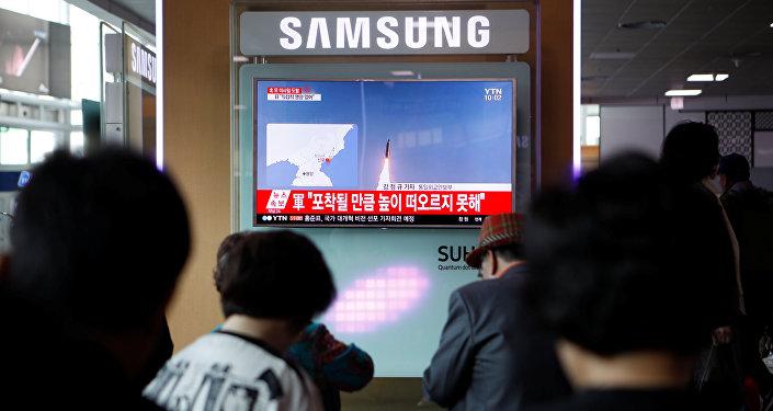 El lanzamiento de misil de Corea del Norte
