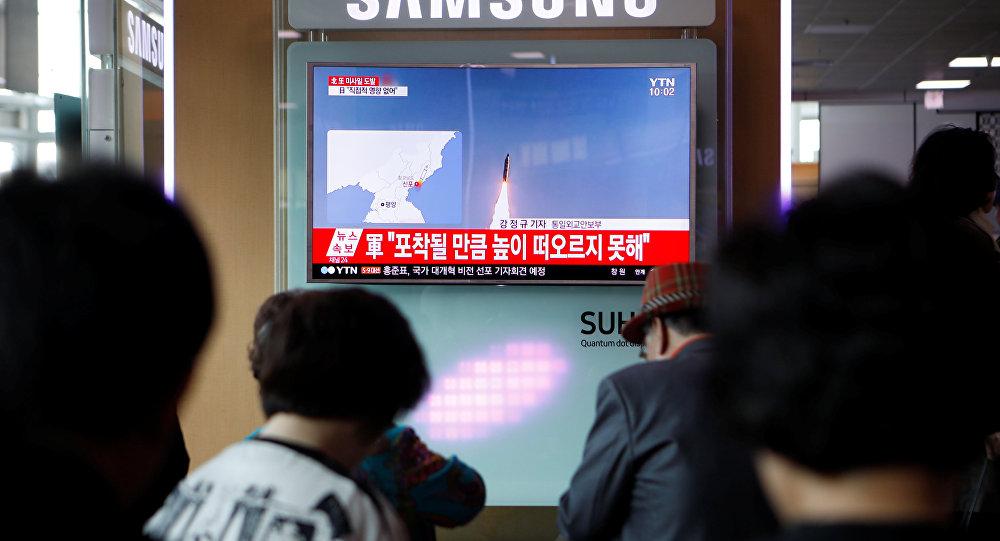 El lanzamiento fallido de misil de Corea del Norte
