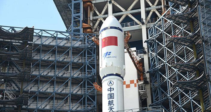 China lanzará nuevo cohete para construir su estación espacial