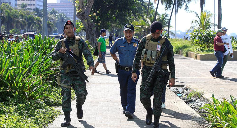 Policía filipina (imagen referencial)