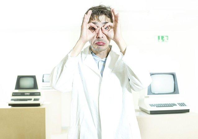 Un científico (imagen referencial)
