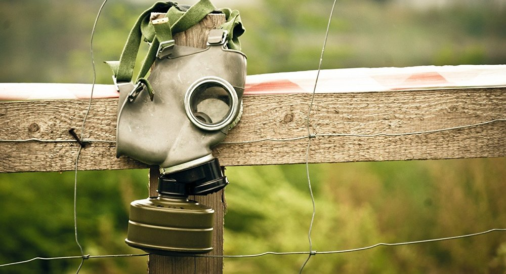 Máscara antigás (imagen referencial)