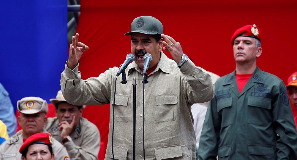 """Resultado de imagen para Maduro ante los militares: """"La fuerza armada de Venezuela está cohesionada como nunca antes"""""""