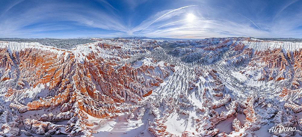 El parque Nacional del Cañón Bryce en el estado de Utah, EEUU