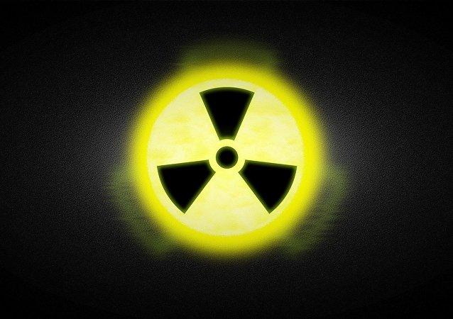 Señal de radiación (imagen referencial)