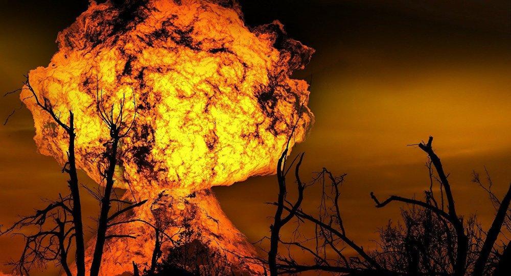 Una explosión (archivo)