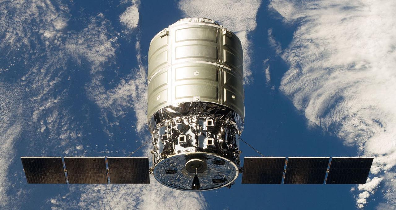 La nave espacial no tripulada Cygnus