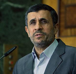 Mahmud Ahmadineyad, expresidente de Irán (archivo)