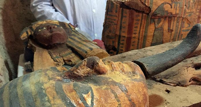 Momias egípcias (imagen referencial)