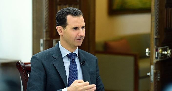 Bashar Asad, presidente sirio