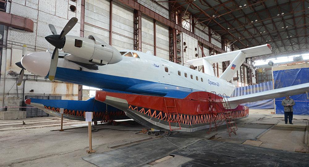 Orión-20, ekranoplano ruso