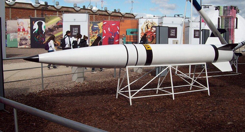 Misil argentino Alacrán, desarrollo parcial del misil Cóndor (Archivo)