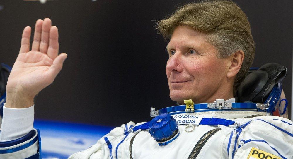 El cosmonauta ruso Guenadi Pádalka (archivo)
