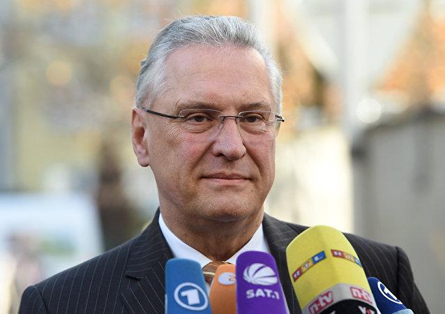 Joachim Herrmann, ministro del Interior del estado federado alemán de Baviera