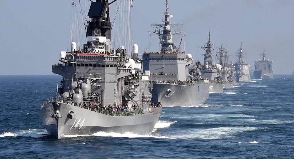 Fuerzas de Autodefensa Marítimas de Japón (Archivo)