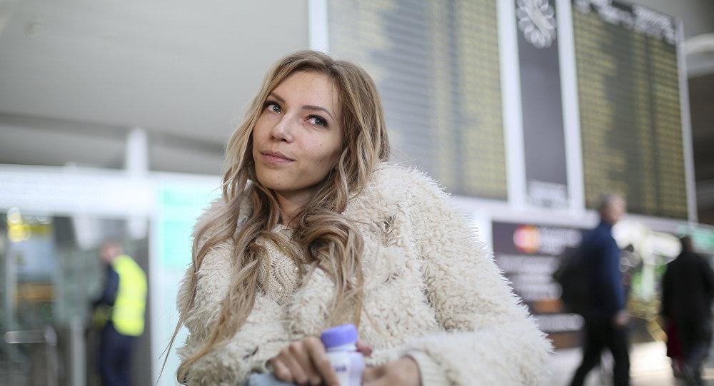 Yulia Samóilova, cantante rusa (archivo)