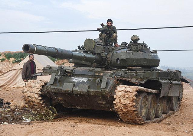 La ofensiva del Ejército de Siria en Hama (archivo)