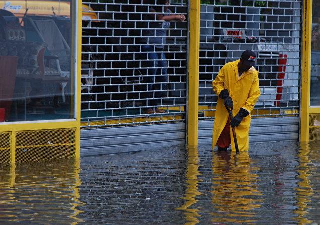 Inundaciones en República Dominicana (archivo)