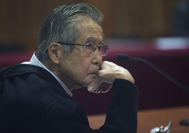 Alberto Fujimori, expresidente de Perú (archivo)