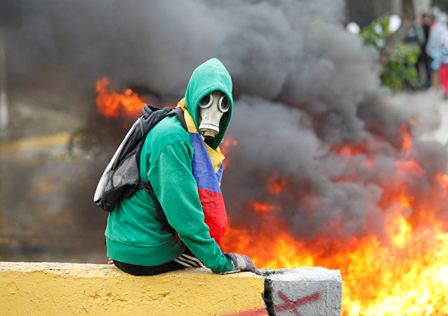 Violentas protestas en Venezuela
