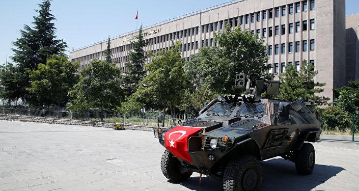 Situación en Ankara tras el fallido golpe de estado (archivo)