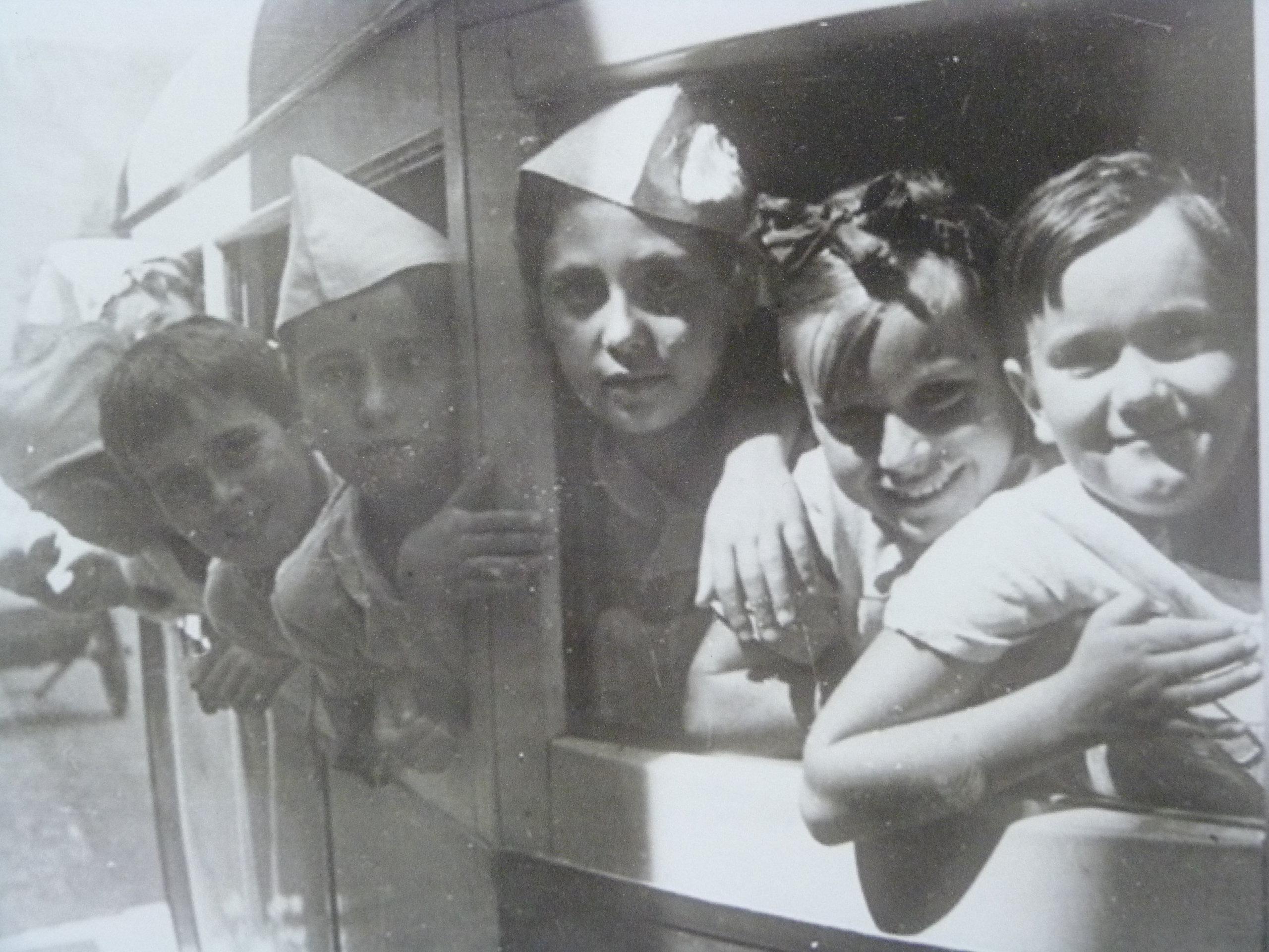 Niños españoles de la guerra. Exposición
