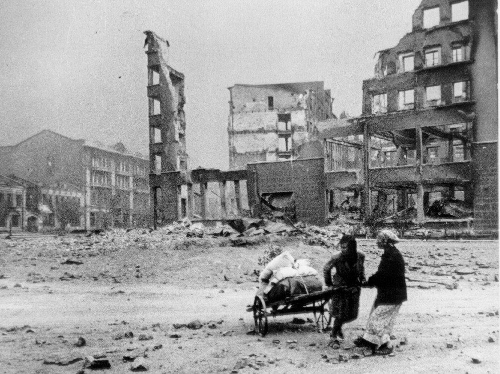 ¿A dónde ir? Stalingrado, 1942.