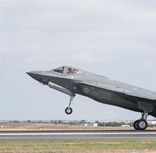 El caza F-35 (imagen referencial)