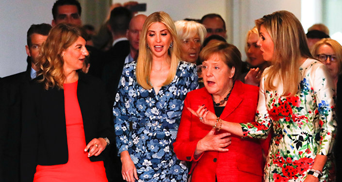 Ivanka Trump toma parte en la Cumbre del G20