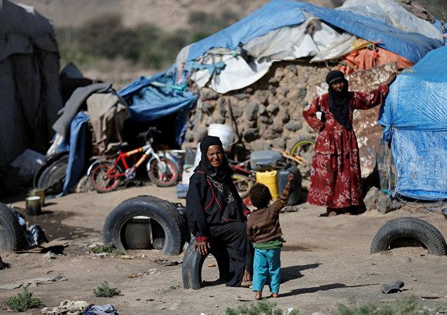 Situación humanitaria en Yemen (archivo)