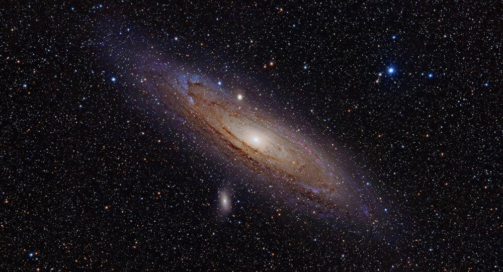 La galaxia Andrómeda