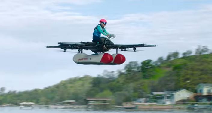 Uno de los fundadores de Google presenta un revolucionario auto volador