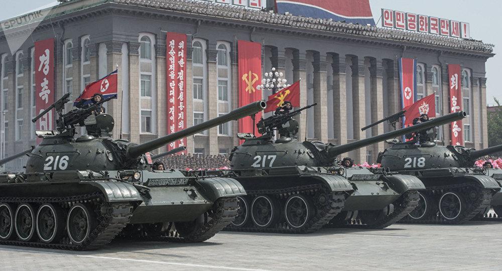 Las FFAA de Corea del Norte (Archivo)