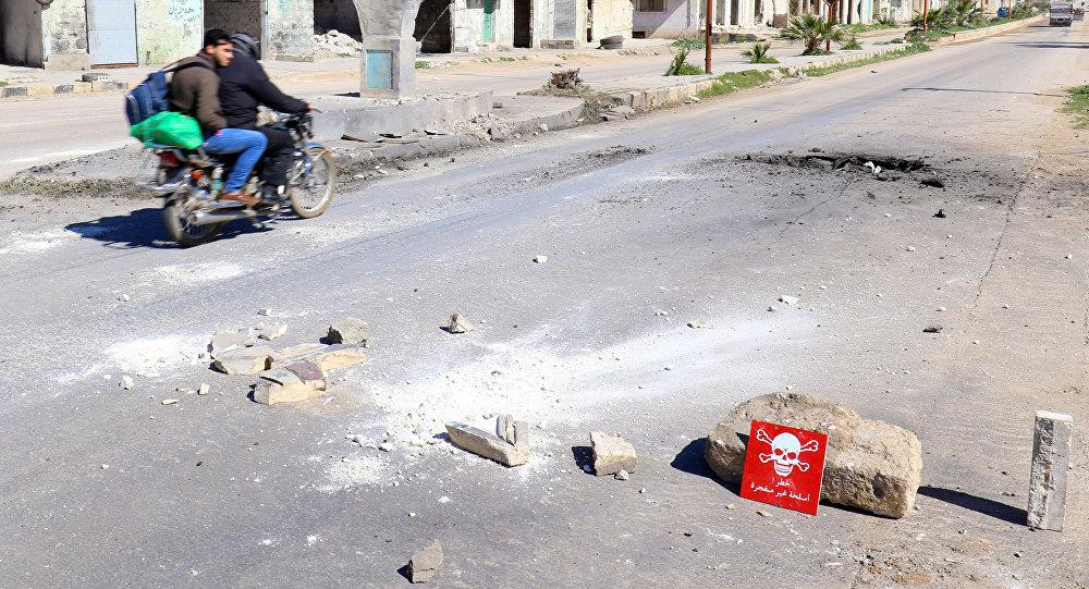 Ataque químico en Jan Sheijun, Idlib (Archivo)