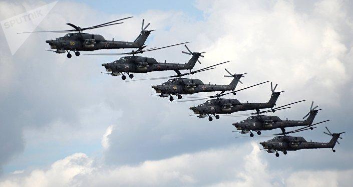 Helicópteros Mi-28N (archivo)