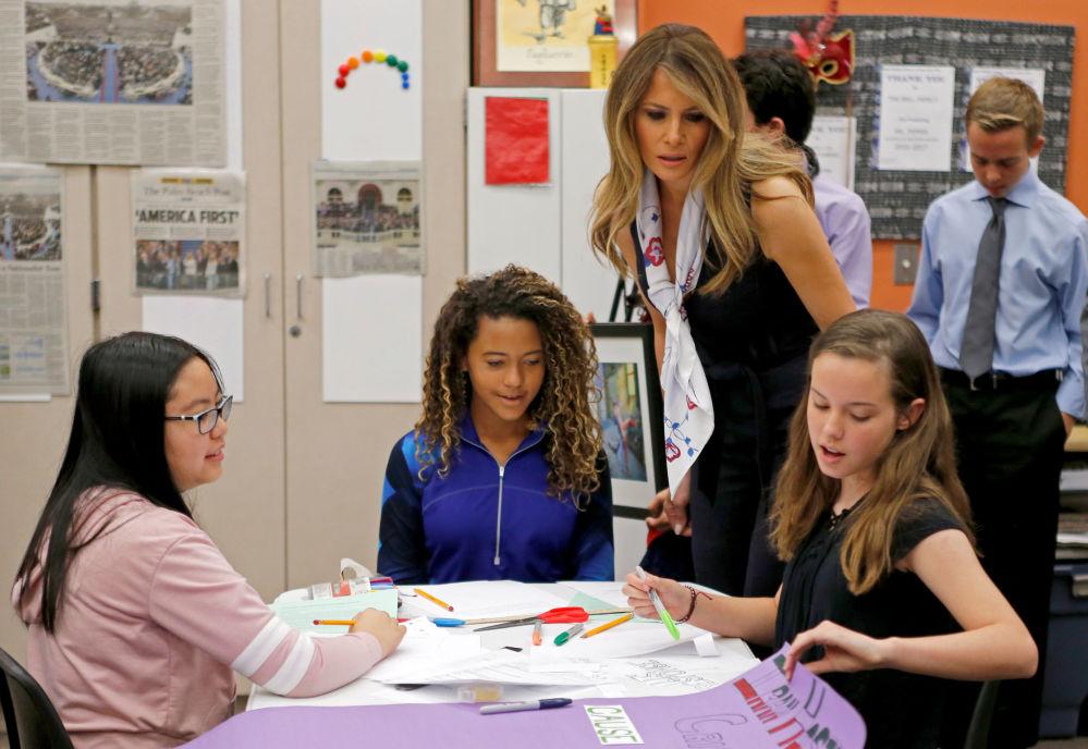 La vida de la primera dama de EEUU, Melania Trump