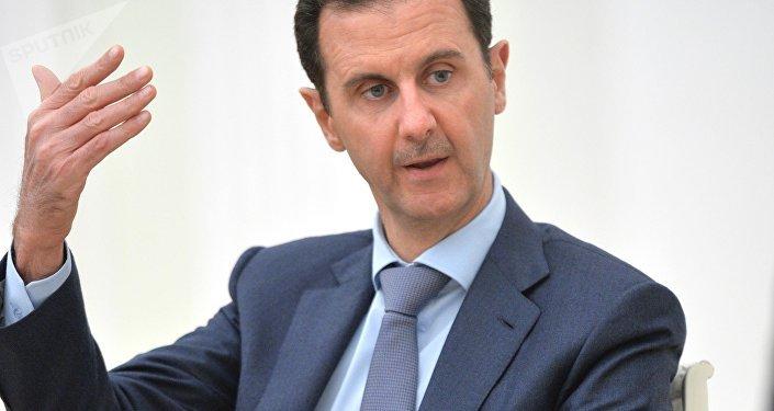 Bashar Asad, presidente de Siria en Moscú