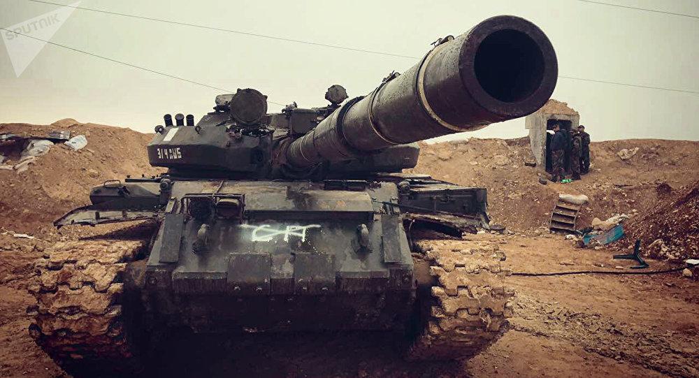 Avance de las tropas gubernamentales sirias en norte de la provincia Hama
