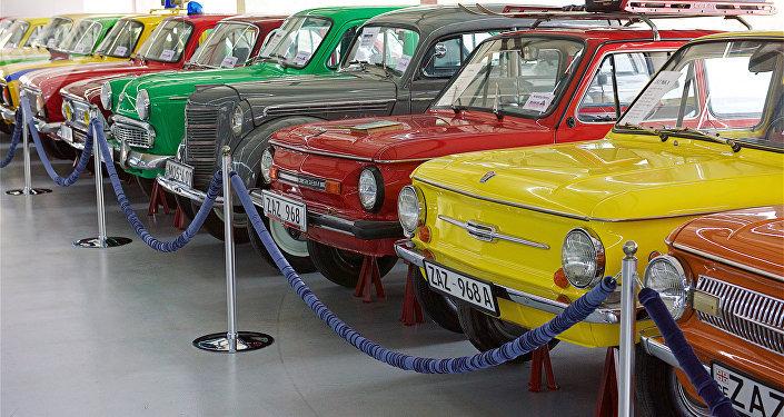 Museo de automóbiles soviéticos