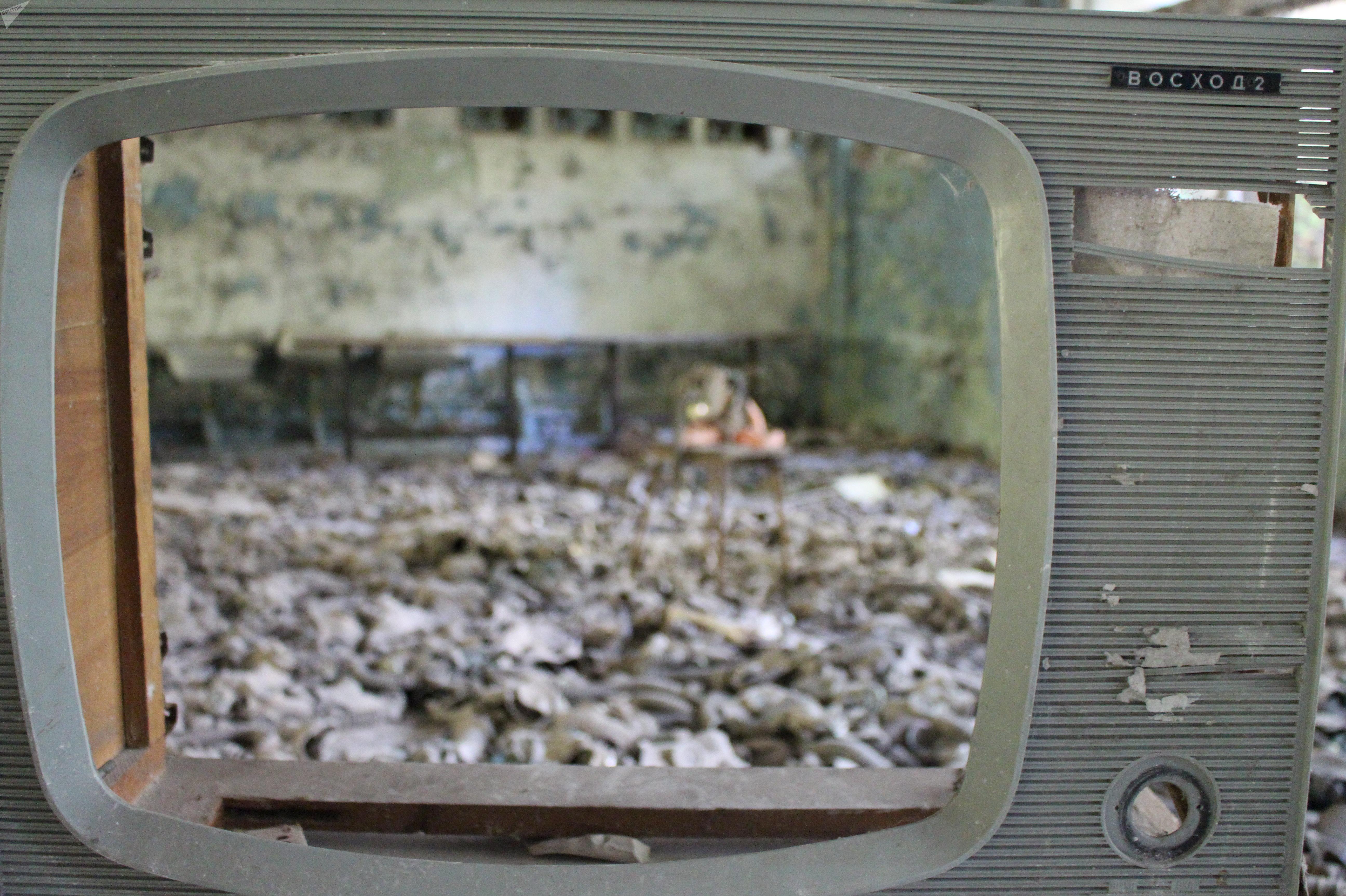 Viaje de periodista argentino a Chernóbil