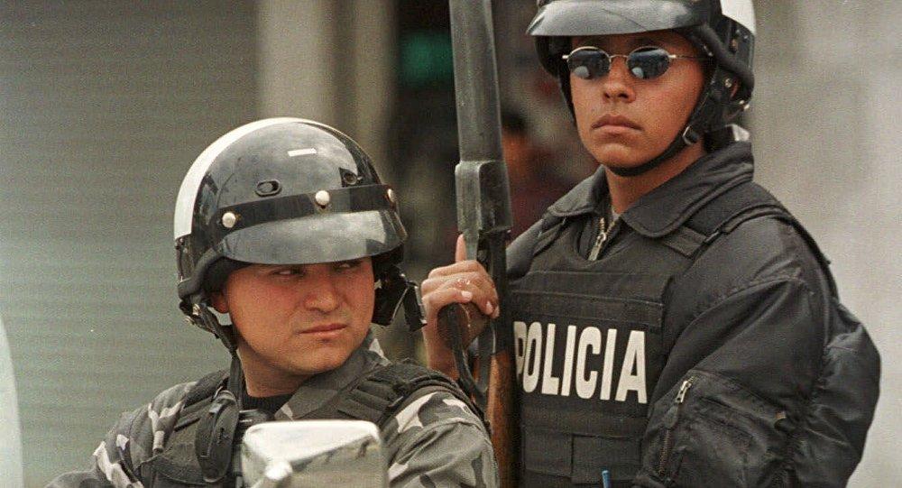 Policía de Ecuador (archivo)