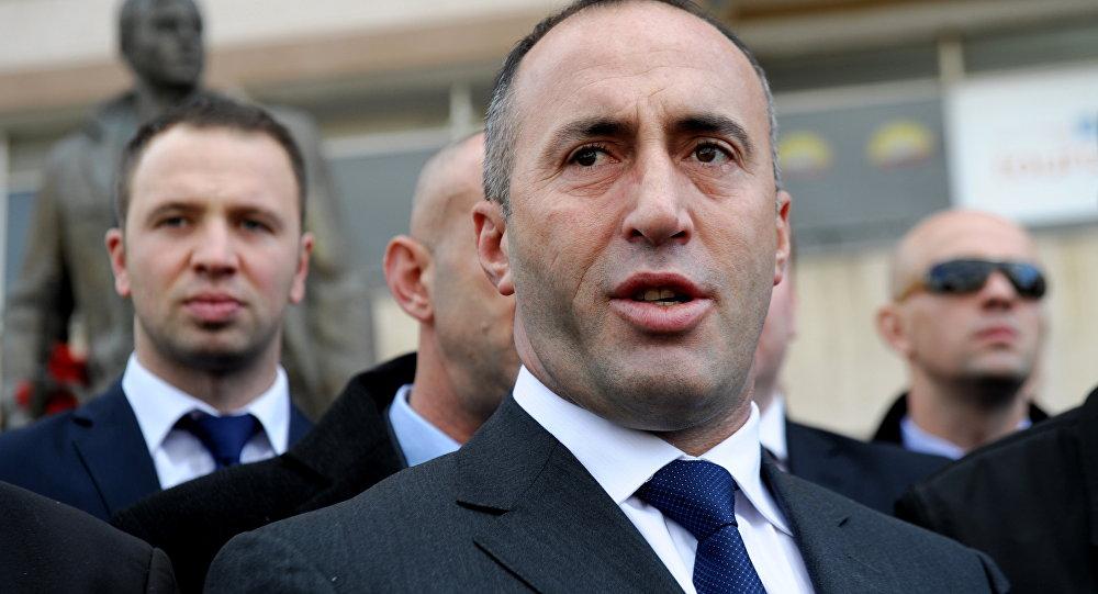 Ramush Haradinaj, el primer ministro de la autoproclamada República de Kosovo