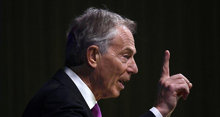 Tony Blair, el ex primer ministro del Reino Unido (archivo)
