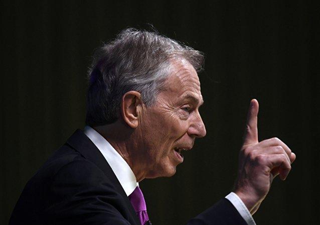 Tony Blair, ex primer ministro británico