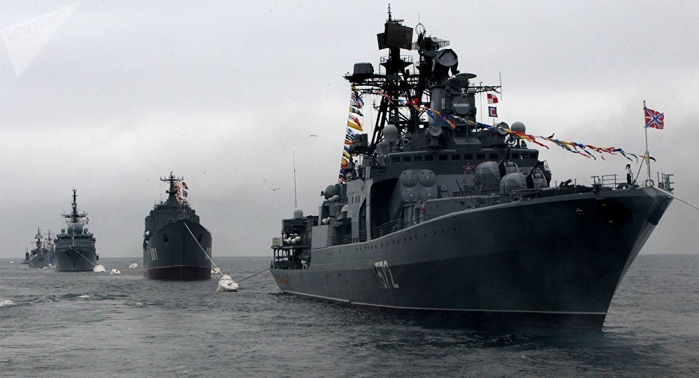 La Armada de Rusia (archivo)