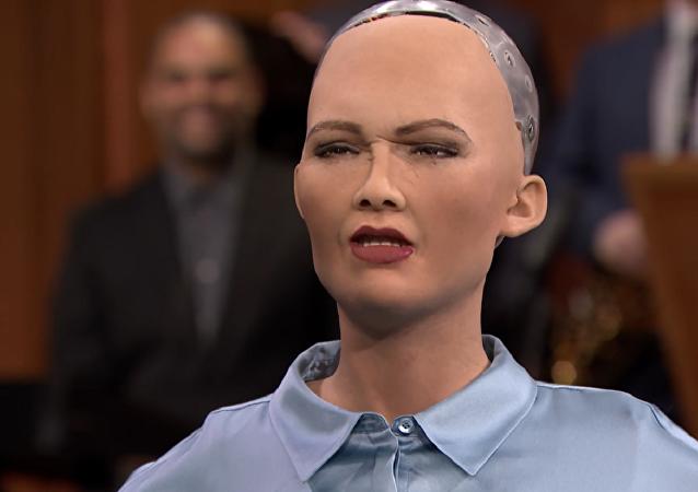 El robot Sofía