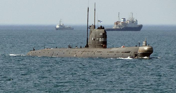 El submarino ucraniano Zaporozhie